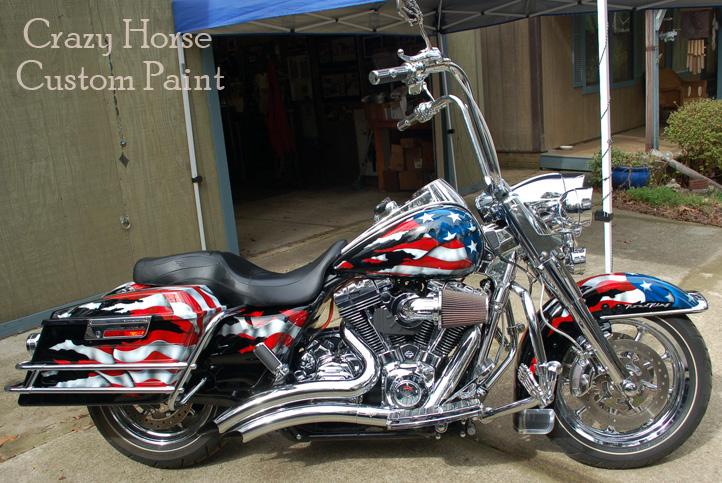 Patriotic Motorcycle Paint Jobs