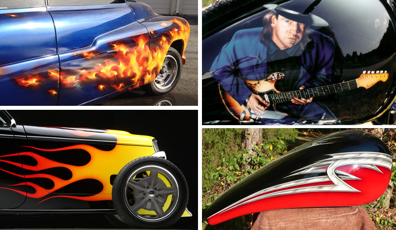 Click here to see our Hot Rod Paint Jobs!